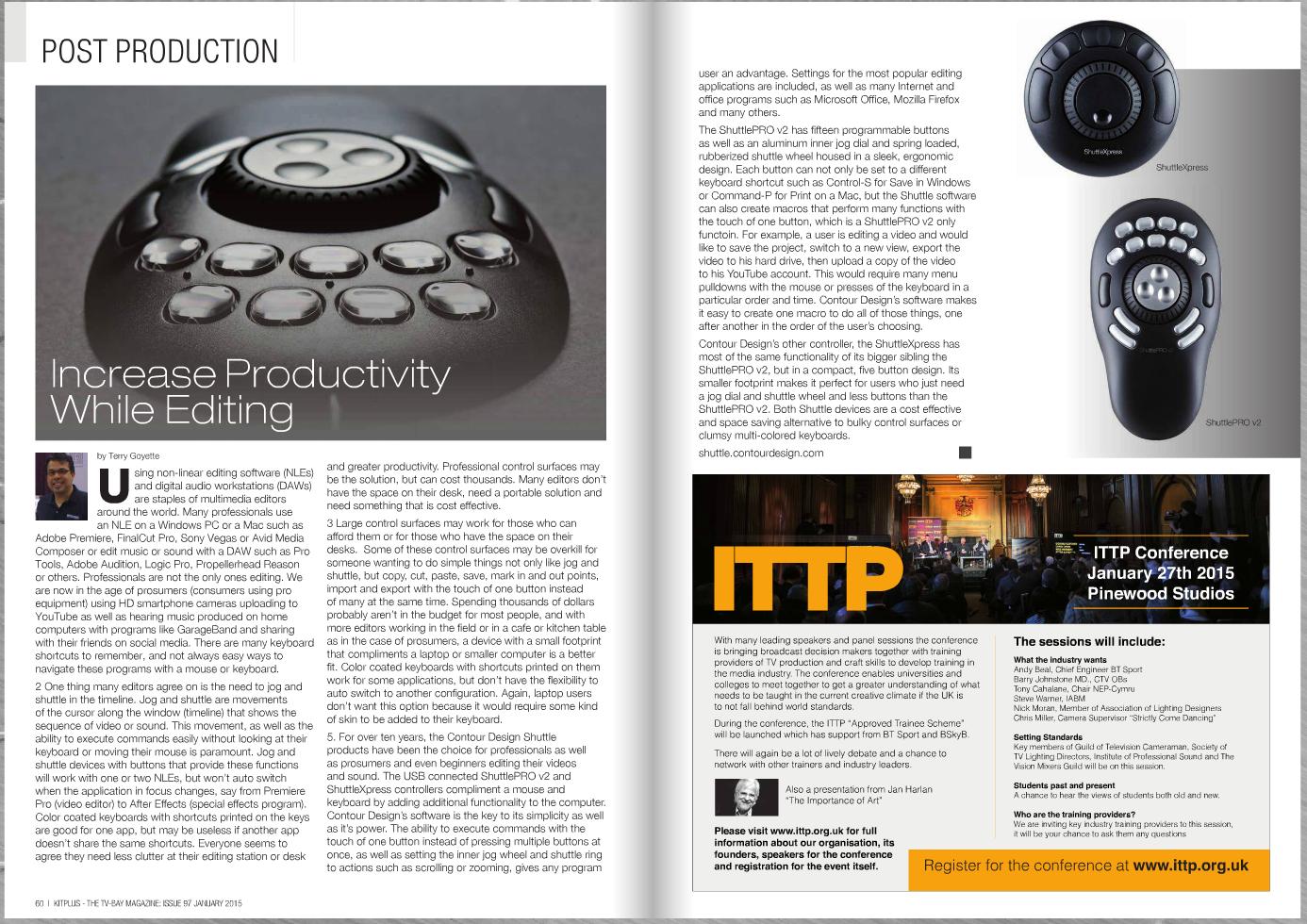TV Bay Magazine article
