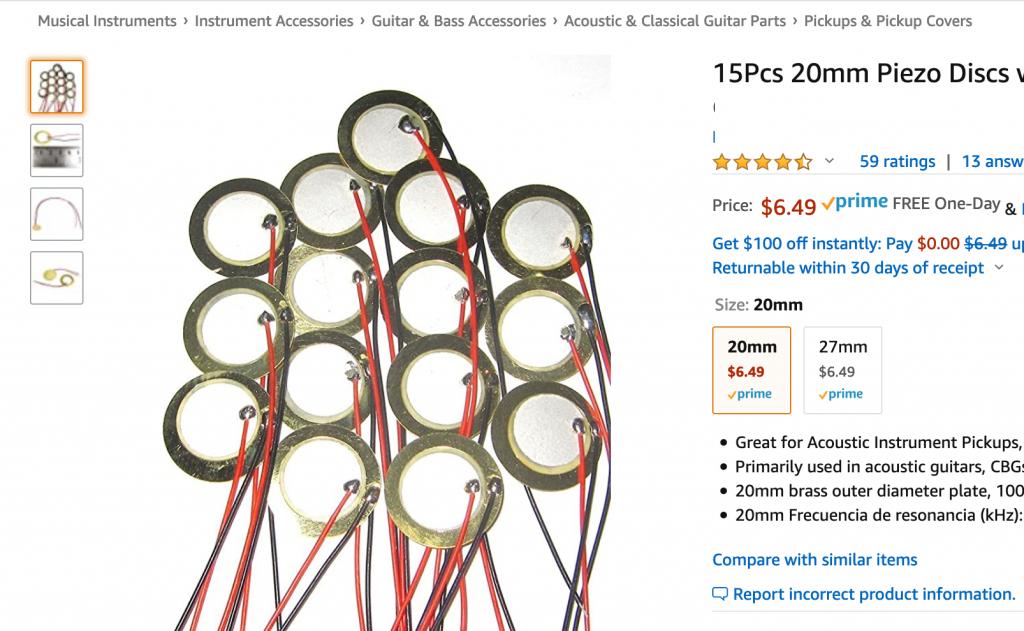 15 piezo transducers cost $6.49